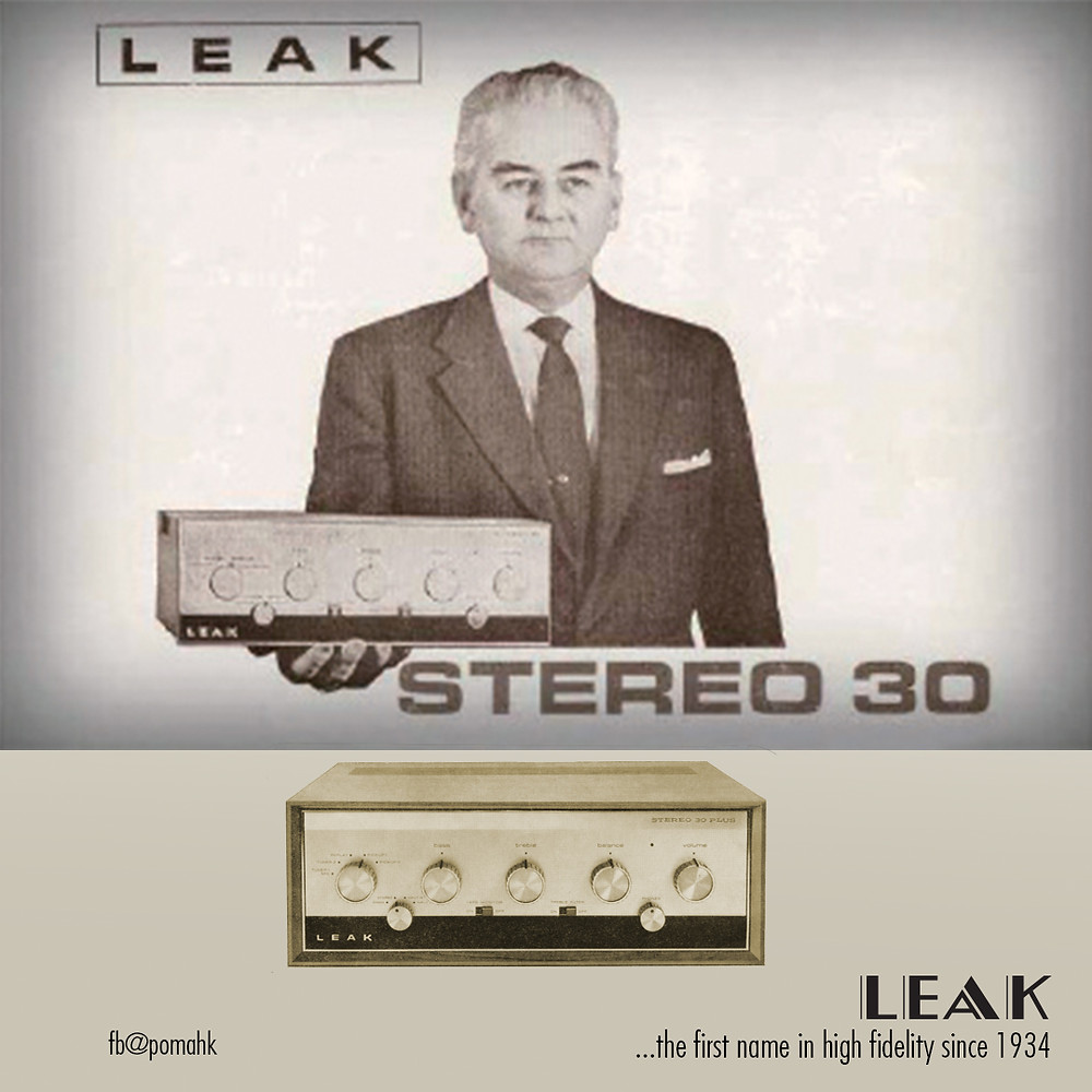 LEAK 最為人津津樂道的經典產品要數於 1963 年推出的首部電晶體擴音機 STEREO 30,繼承了傑出的閥門擴音系列,保持 LEAK 的 Hi-Fi 立體聲表現。