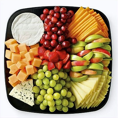 Fresh Fruit & Cheese Platter
