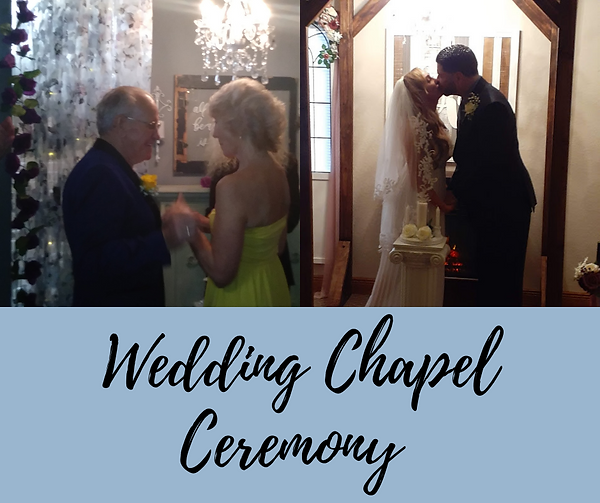 Wedding Chapel Ceremony With First Dance