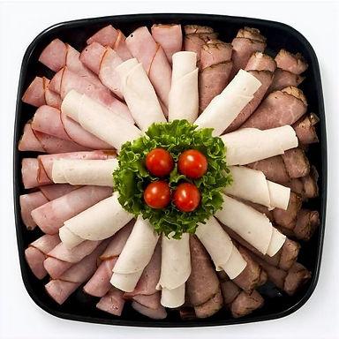 roast beef, tavern ham, and turkey