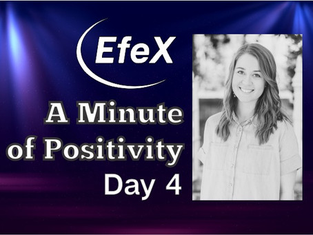 EfeX Positivity Matters, Week 1: Positivity Matters, Day 4: Wilma Rudolph Chooses Positivity!