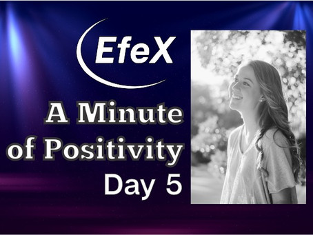 Positivity Matters, Week 1: Positivity Matters, Day 5: Choose the Power of Positive Thinking