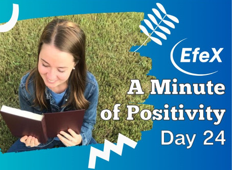 Positivity Matters, Week 5: Growing Positivity in Our Lives, Day 4: Watching Out For Bad Stuff