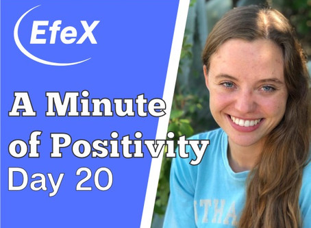 Positivity Matters, Week 4: Creating the New You, Day 5: Creating the New You