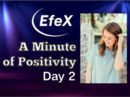 EfeX Positivity Matters, Week 1: Positivity Matters, Day 2: Even The Rats Can Have Growth Mindset