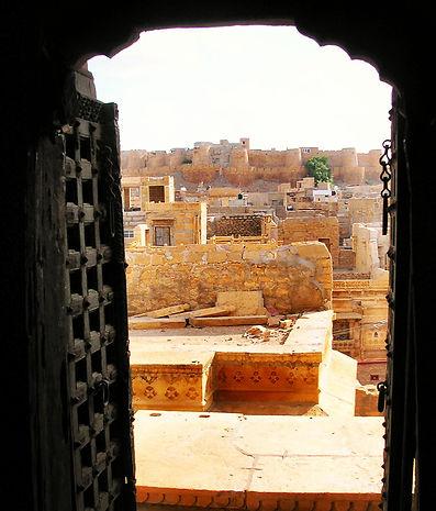 Porte à Jaisalmer en Inde