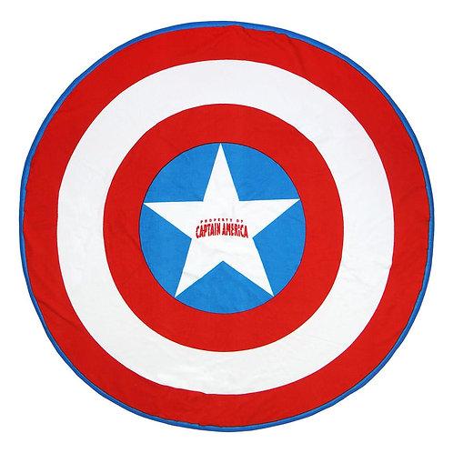 Toalla redonda Capitán América