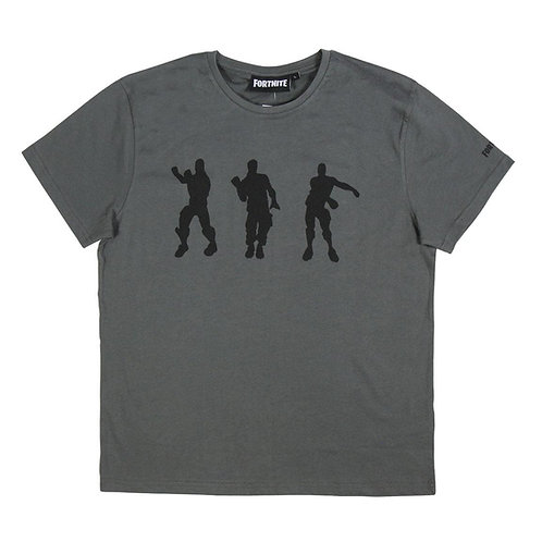 Camiseta Fortnite Gris