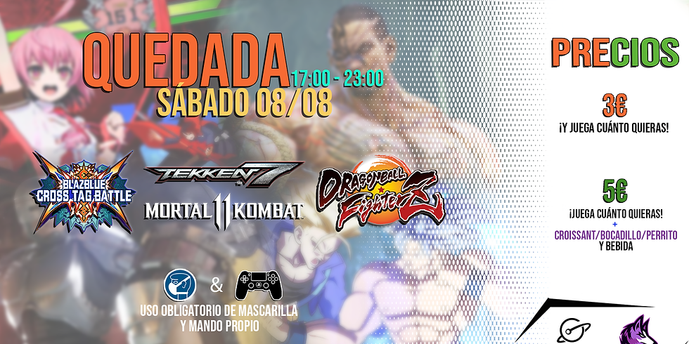 Quedada Fighting Day - Galaxy Gaming/Skoll Gaming
