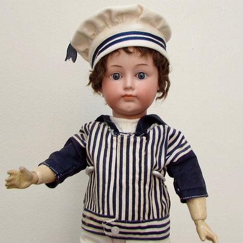 "16"" Armand Marseille Character Boy 700"