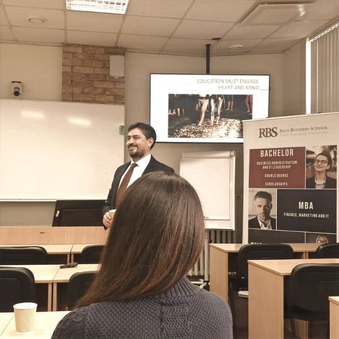 Riga Business School event, 13 Feb 2020