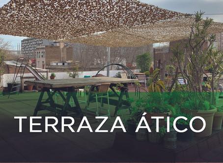 También puedes disfrutar de nuestra terracita