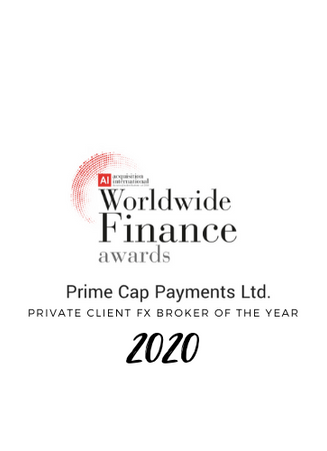 Private Client FX Broker of the Year 2020.