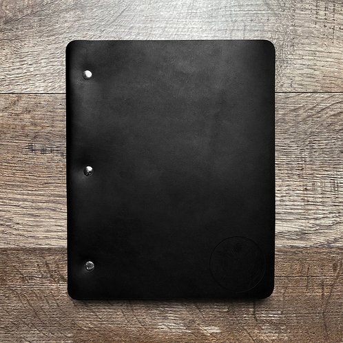 PREORDER Great Seal - Small - Refillable Leather Binder (2-3 Weeks)