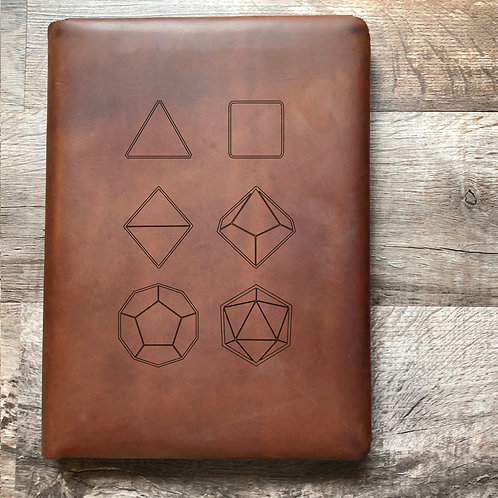 Seven Set Executive Cut - Refillable Leather Folio