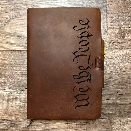 We The People Imperfect Classic Cut - Murdy No. 2 Refillable Leather Journal