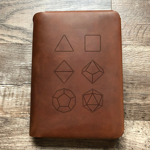 Seven Set Travel Cut - Refillable Leather Folio