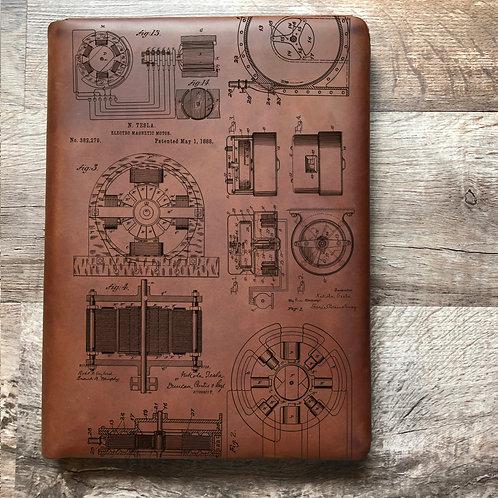 Nikola Tesla Executive Cut - Refillable Leather Folio