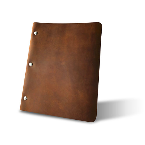 Slim Cut - Refillable Leather Binder