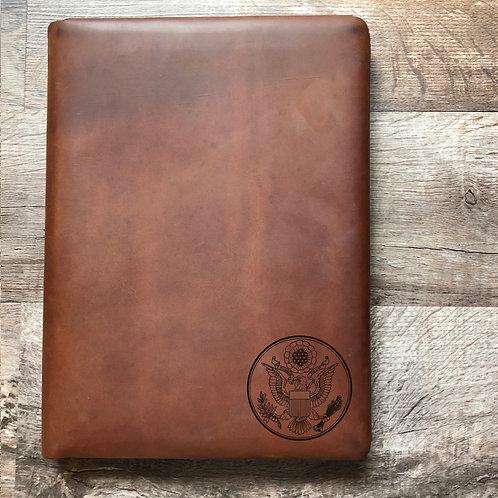 Great Seal - Small - Executive Cut - Refillable Leather Folio