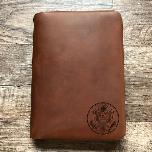 Great Seal - Small - Travel Cut - Refillable Leather Folio