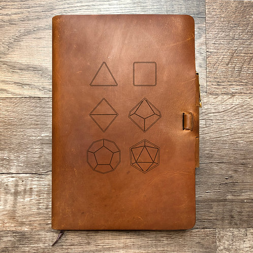 Seven Set - Refillable Leather Journal