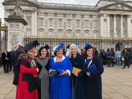 Attending an Investiture at Buckingham Palace