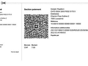 Scanner des QR-factures