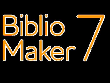 BiblioMaker 7 ist verfügbar !