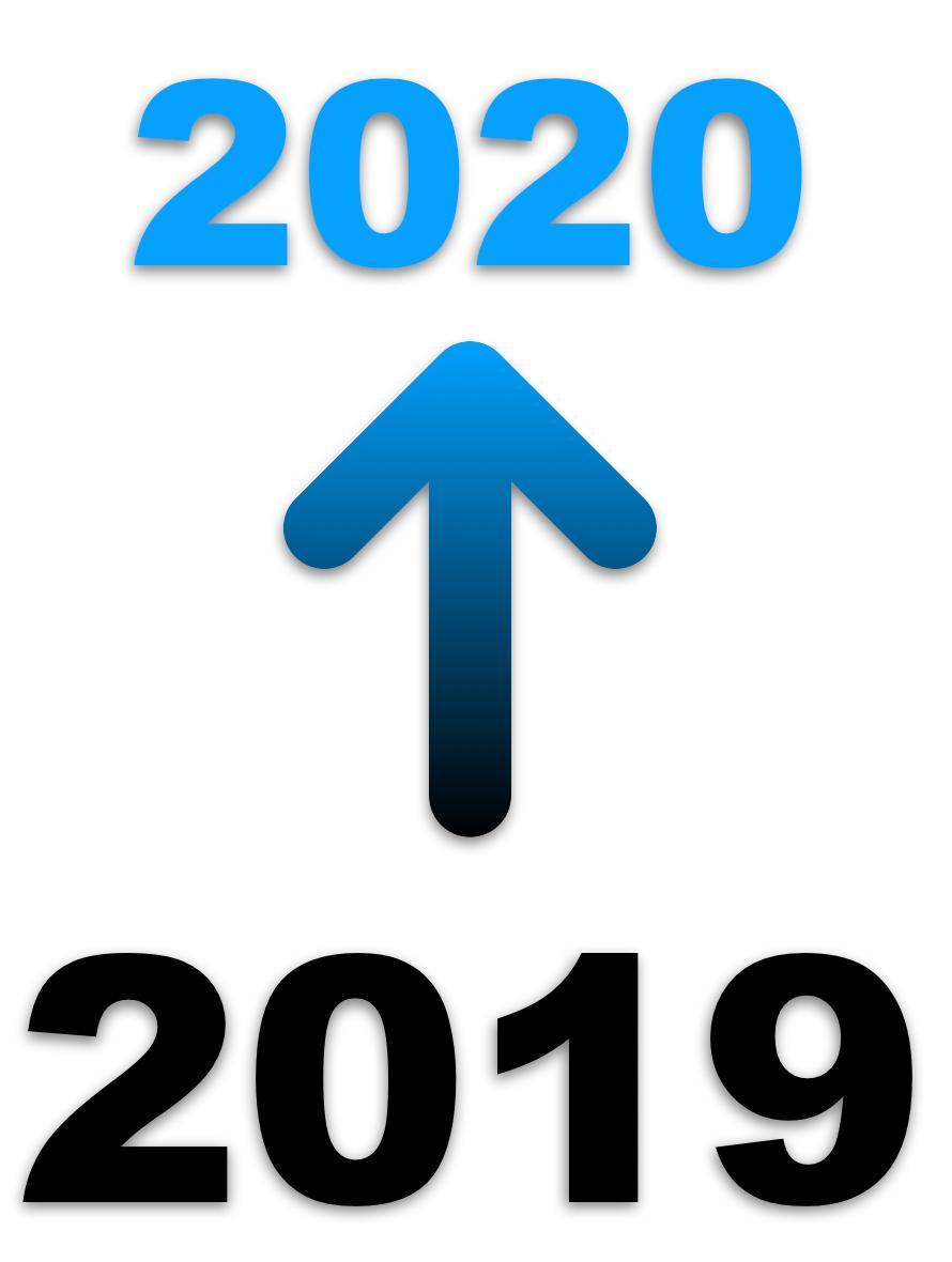 Logo de changement d'année