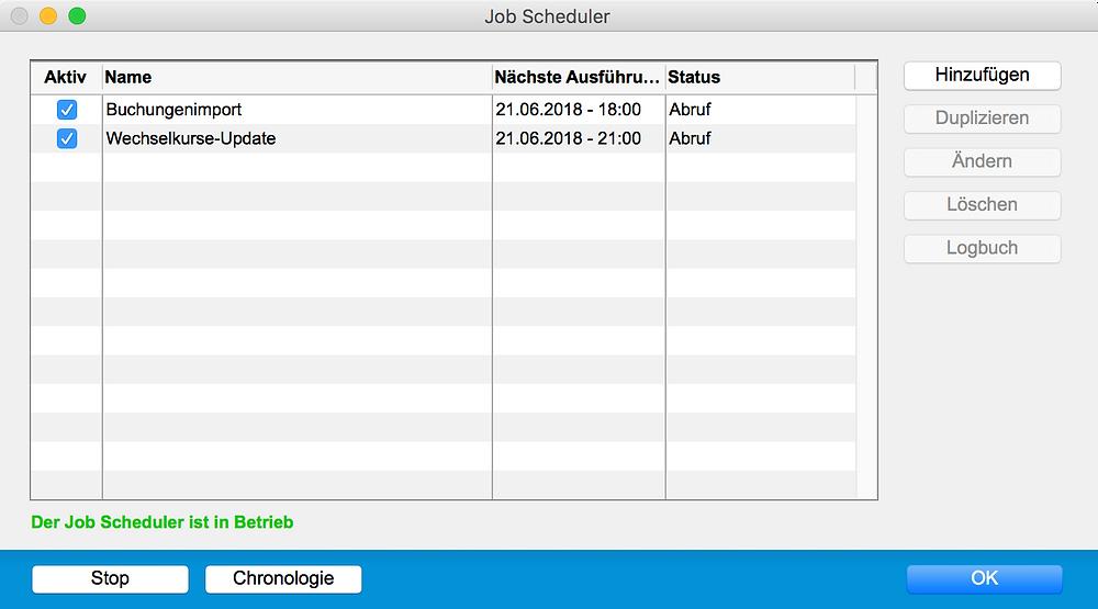 Der Job Scheduler