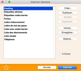 Envoi d'un mailing e-mail avec BiblioMaker