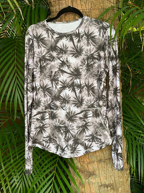 Katia Long Sleeve Palm Trees