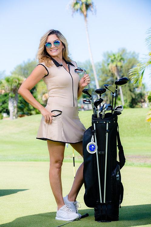 Paula Golf Dress Beije