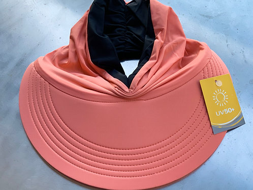 Momo Visor Orange/Black (reversible)
