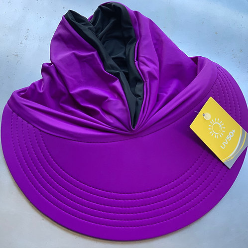 Momo Visor Purple/Black (reversible)