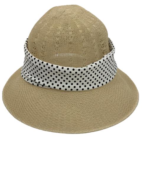 Organic Hat (Polka Dot Headband)