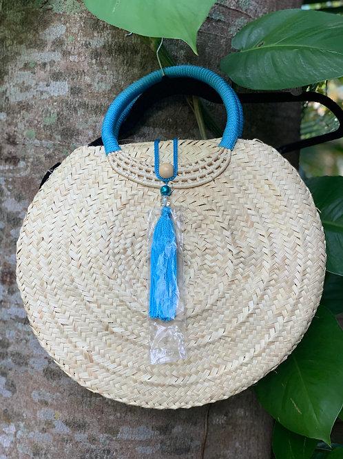 Suzane Organic Handbag (Blue)