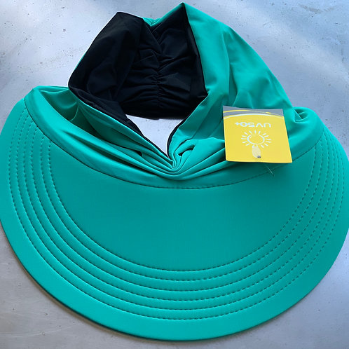 Momo Visor Green/Black (reversible)