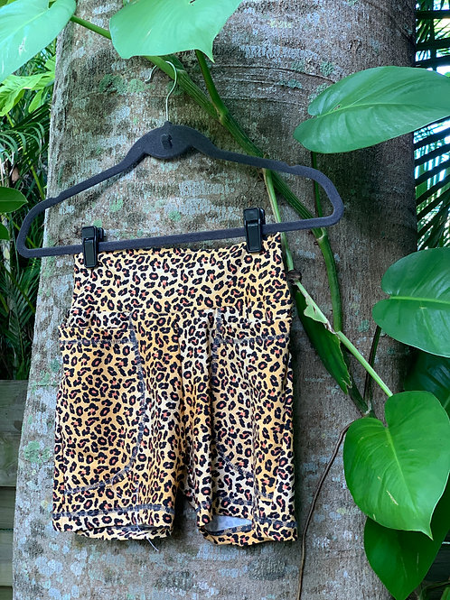 Caitlyn Bikers Shorts (Tiger)