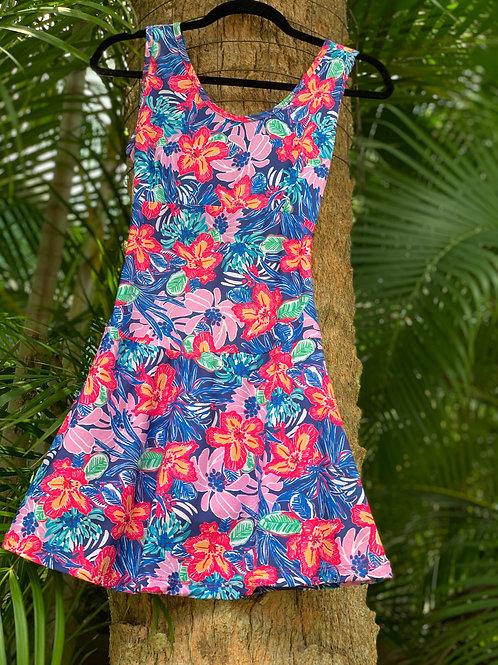 Monaliza Dress (Flower Power)