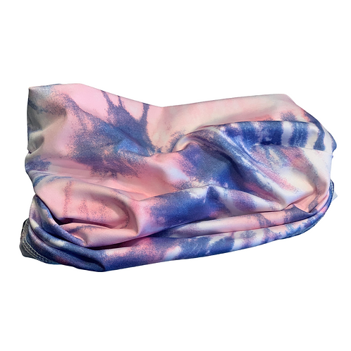 UV50+Gator Tie Dye Purpink