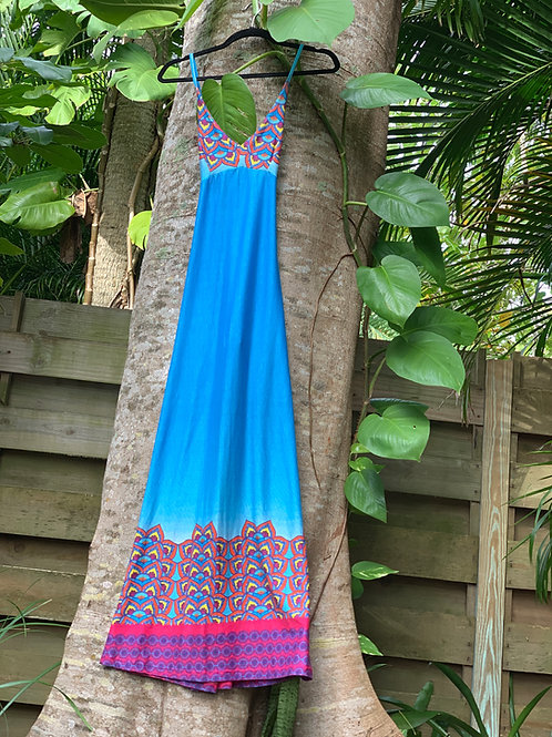Livia Maxy Dress (Blue)