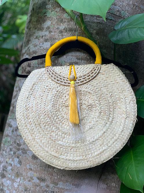 Suzane Organic Handbag (Yellow)