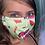 Thumbnail: Mask (Pink Flamingo/Green)