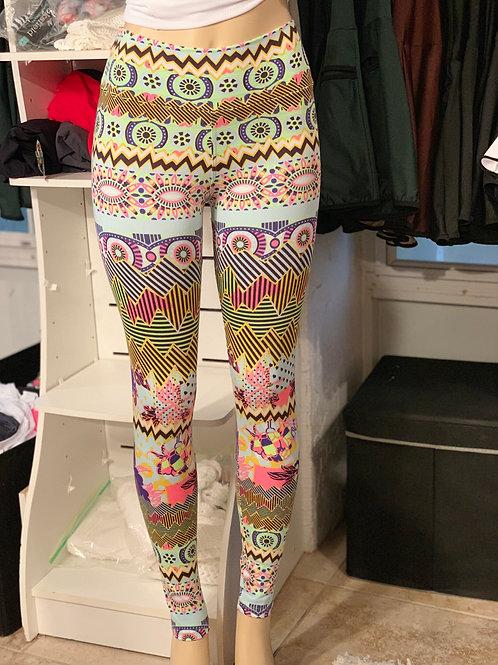 """Carol """"Carnival"""" Long Leggings"""