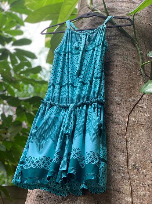 Lillian Romper Turquoise