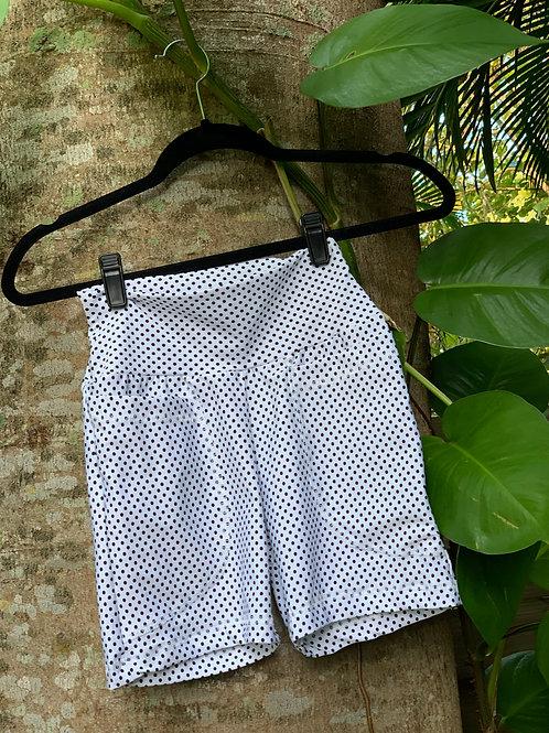 Eva Bikers Shorts (Polka Dot)