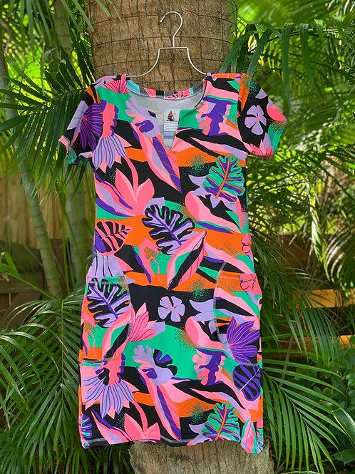 Milena Dress (Bird os Paradise)