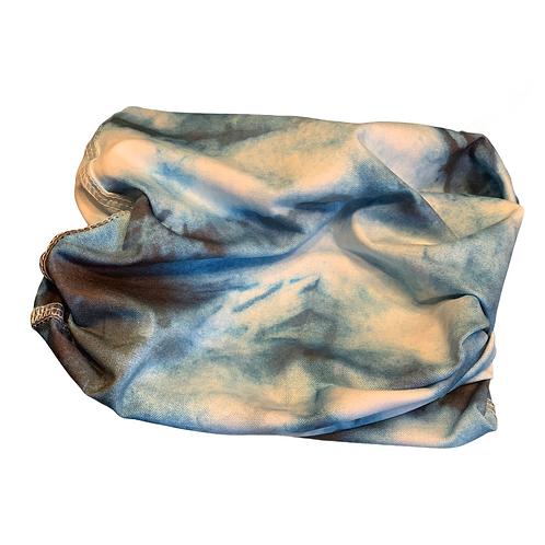 UV50+Gator Tie Dye Blue